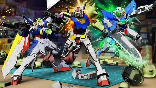 New Gundam Breaker pose art