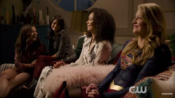 cw supergirl charmed powers teaser