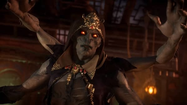 Mortal Kombat 11 Introduces Another New Character in The Kollector