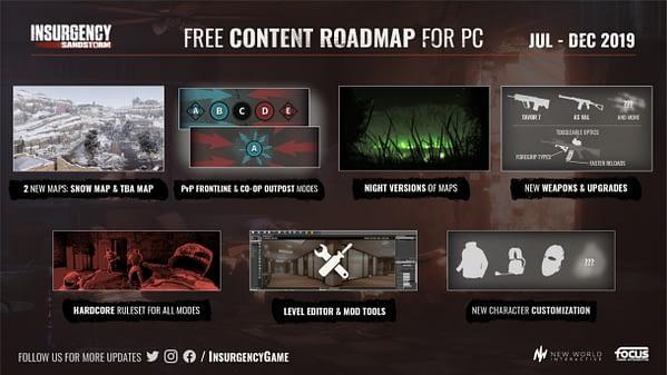 "Focus Home Interactive Announces 6 More Months of ""Insurgency: Sandstorm"" Content"