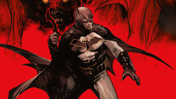 Batman Lost #1 cover by Olivier Coipel and Dave Stewart