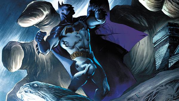 Detective Comics Annual #1 cover by Eddy Barrows, Eber Ferreira, and Adriano Lucas