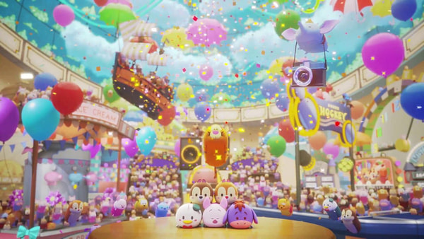Disney Tsum Tsum Festival for Nintendo Switch™ First Trailer