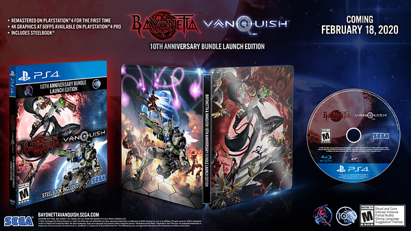 """""""Bayonetta & Vanquish"""" Will Be Out In February 2020"""