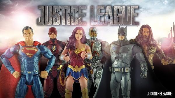 Mattel Justice League Multiverse 6 Inch Figures
