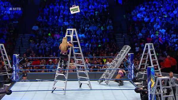 WWE Smackown Women's Ladder Match