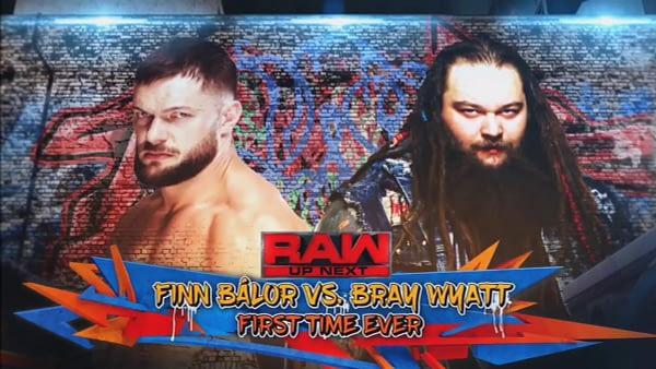 Finn Balor vs Bray Wyatt