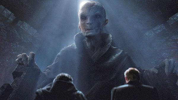 Star Wars: The Last Jedi, Snoke