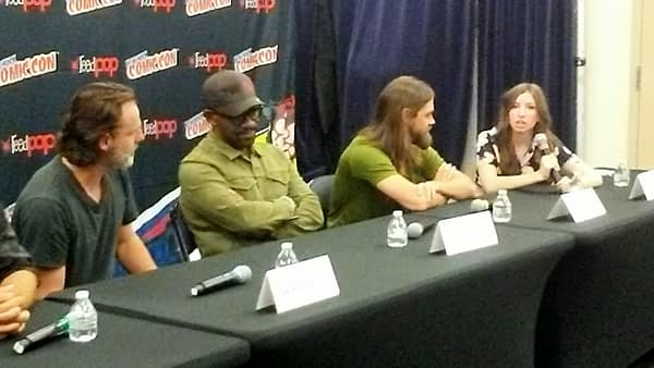 walking dead cast crew nycc 2017