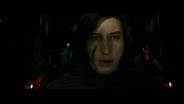 Star Wars The Last Jedi Trailer kylo ren Screencap 4