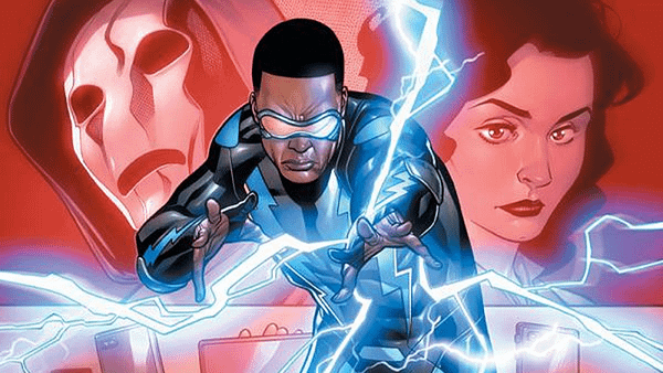 Black Lightning #1 cover by Clayton Henry and Tomeu Morey