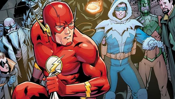 Flash #36 cover by Barry Kitson and Hi-Fi