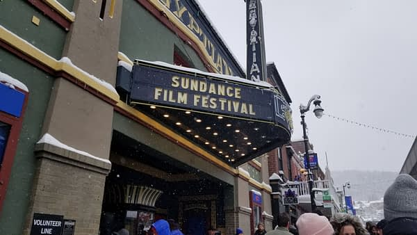 Egyptian Theatre at Park City, Utah, Sundance Film Festival 2018