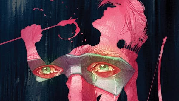 Green Arrow #37 cover by Juan Ferreyra