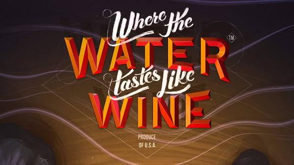 Where the Water Tastes Like Wine logo