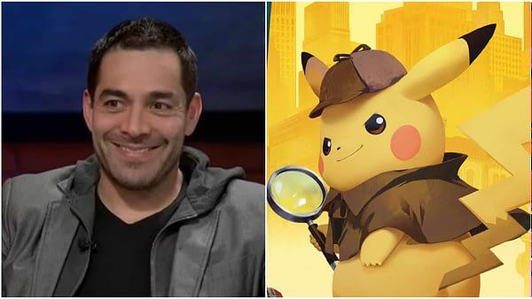 Omar Chaparro joins detective pikachu