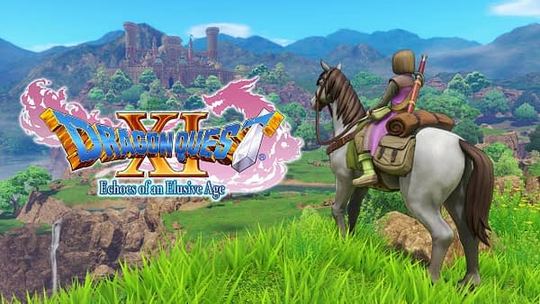 Dragon Quest XI english art