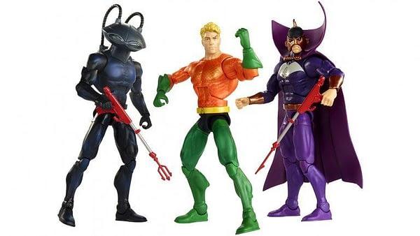 Mattel SDCC Exclusive Aquaman Set 1