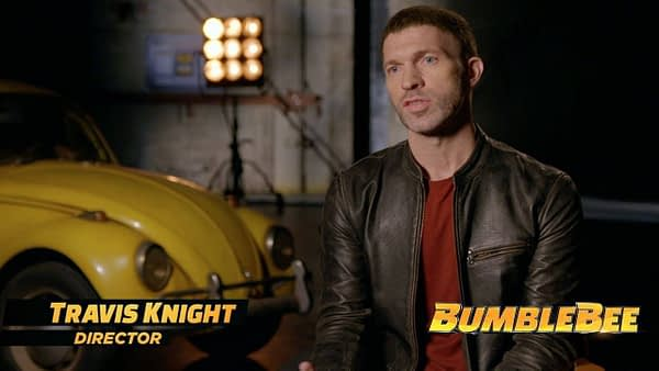 Travis Knight bumblebee