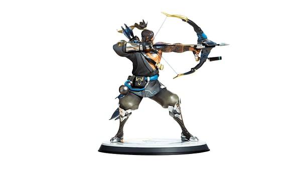 Blizzard Overwatch Hanzo Statue 2