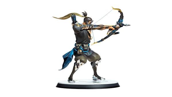 Blizzard Overwatch Hanzo Statue 3