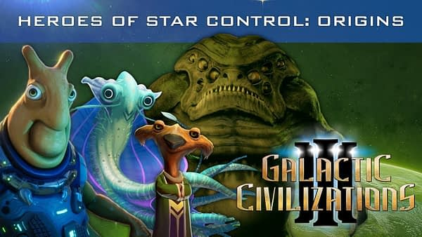 Galactic Civilizations III - Heroes of Star Control: Origins / v3.1 Trailer
