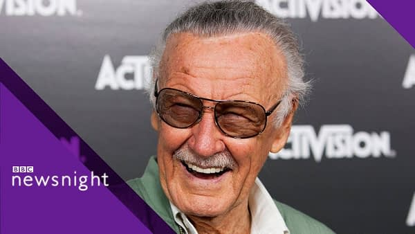 Stan Lee: The 'Ideas Man' INTERVIEW with Jonathan Ross - BBC Newsnight