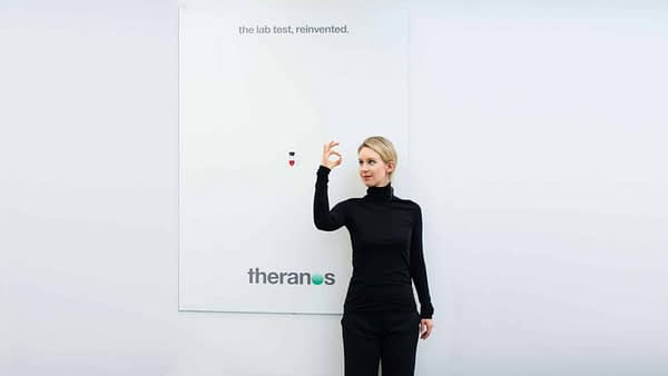 CEO Elizabeth Holmes, Theranos
