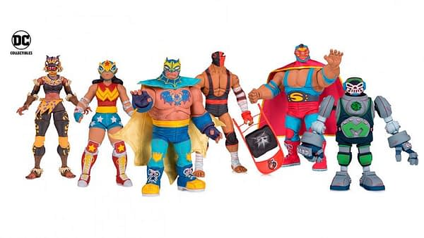 DC Collectibles DC Lucha Libre Figures 1
