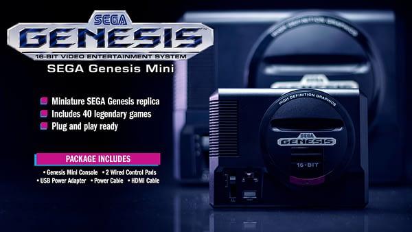 The Sega Genesis Mini Release Lineup has been Revealed