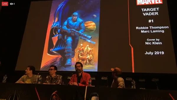Beilert Valance Gets His Own Star Wars Comic, Announced at Celebration
