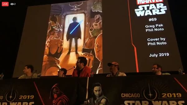 Beilert Valance Gets His Own Star Wars Comic, Alongside Finn, Rey, Captain Phasma With Tom Taylor, G Willow Wilson Announced as Greg Pak Takes Over Ongoing Series