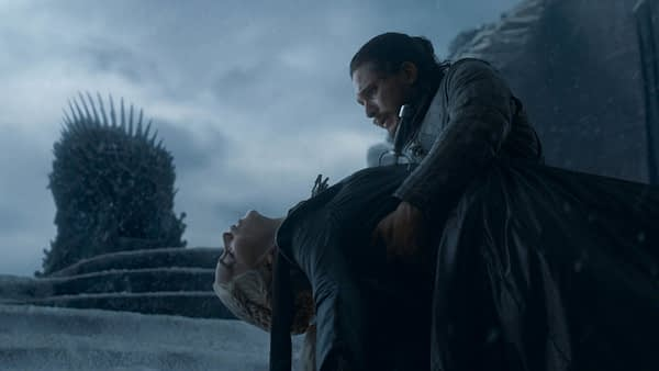"""Emilia Clarke """"Absolutely Never Saw"""" That 'Game of Thrones' Ending Coming"""