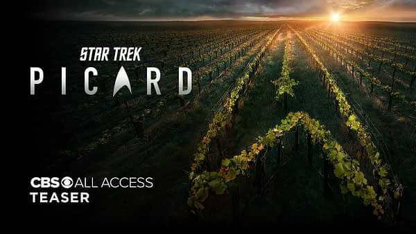 First Teaser Trailer for 'Star Trek: Picard' Released!