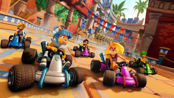 Crash Team Racing Nitro-Fueled will Have Free Seasonal Content