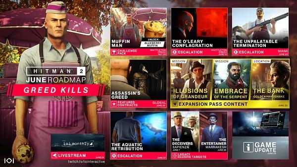 Hitman 2 Receives a Roadmap For June 2019 Content