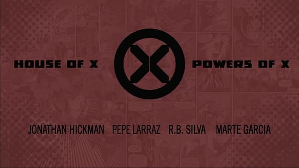 Marvel Trailer For House of X and Powers of X
