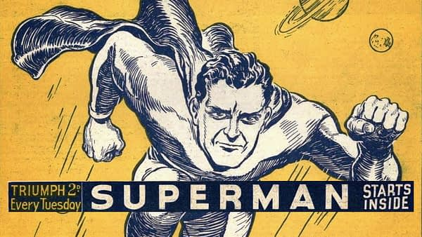 Did a UK Publisher Make Us Believe Superman Could Fly in 1939?