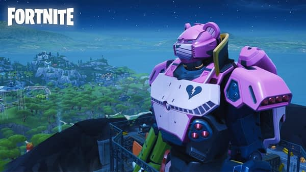 """Fortnite"" Had A Giant Mech Vs. Kaiju Battle Yesterday"