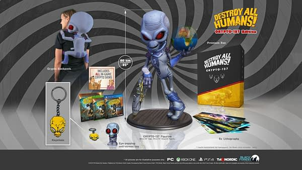 "THQ Reveals The ""Destroy All Humans!"" Special Editions"