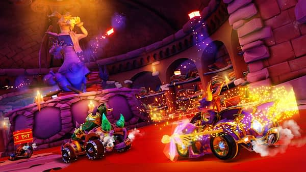 "Spyro the Dragon will Appear in ""Crash Team Racing Nitro-Fueled""'s Grand Prix"