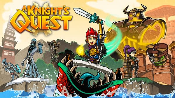 """""""A Knight's Quest"""" Receives A New Trailer"""