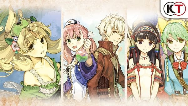 "Koei Tecmo Announces ""Atelier Dusk Trilogy Deluxe Pack"" For 2020"