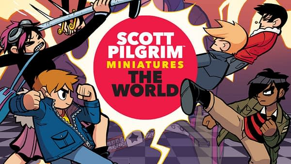 """Scott Pilgrim"" Miniature Board Game Gets Full Kickstarter Funding"