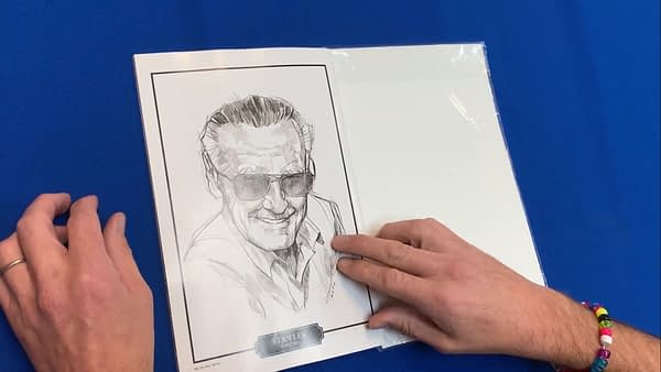 Take a Look at the Marvel Celebrates Stan Lee Comic Book