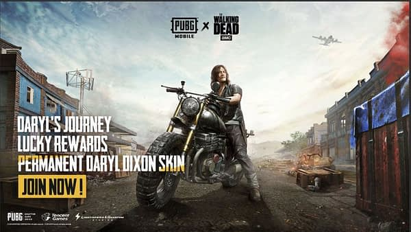 "Giveaway: ""The Walking Dead"" Pack For ""PUBG Mobile"""