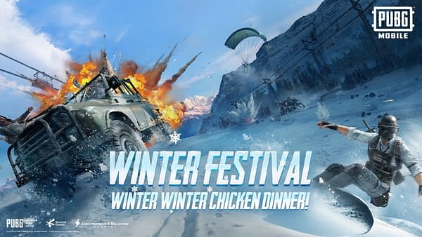 pubg mobile receives the new winter festival update. Black Bedroom Furniture Sets. Home Design Ideas