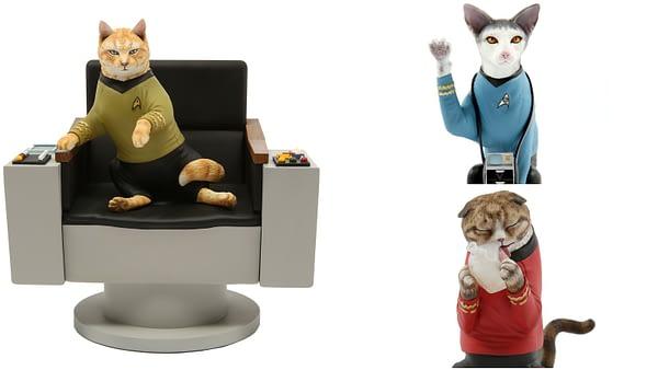 Chronicle Announces New Line of…Star Trek Cat Statues