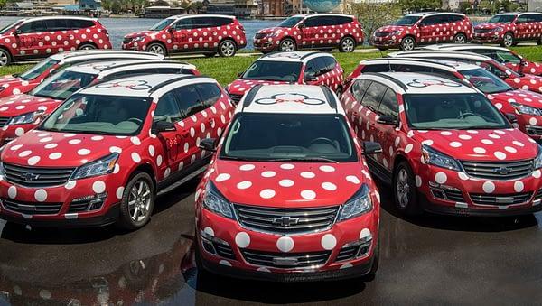 Disney Minnie Vans