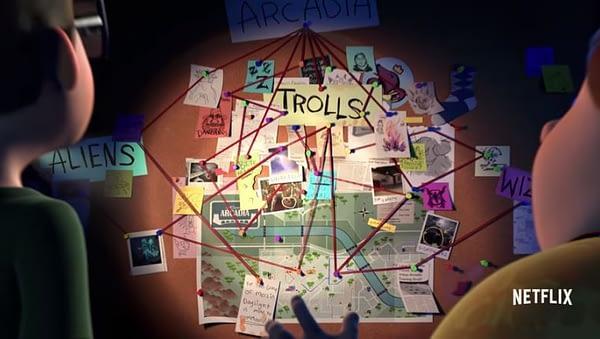 trollhunters new series del toro netflix